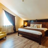 Сьюит (Улучшенный люкс) отеля Sunrise, Зелёная Поляна