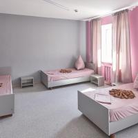 Номер (Односпальная кровать в общем номере с 3 кроватями) хостела На Ленина 12, Магнитогорск