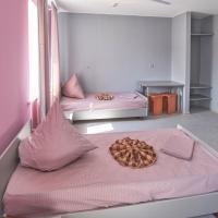 Номер (Односпальная кровать в общем номере с 2 кроватями) хостела На Ленина 12, Магнитогорск